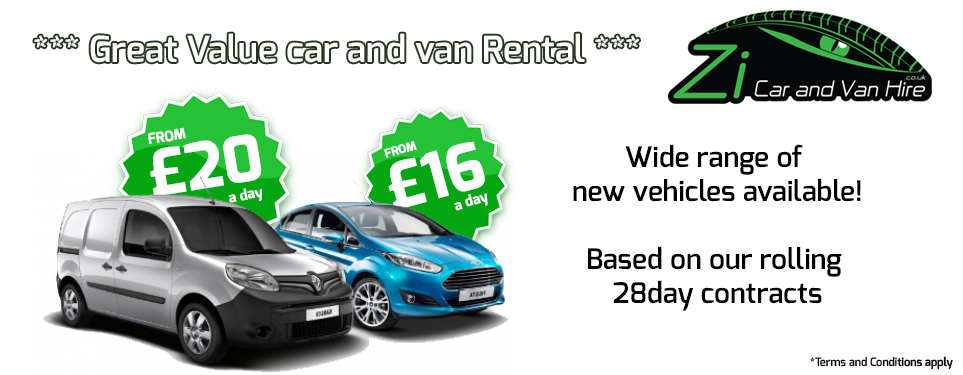 Daily Car Rental | Zi Car and Van Hire